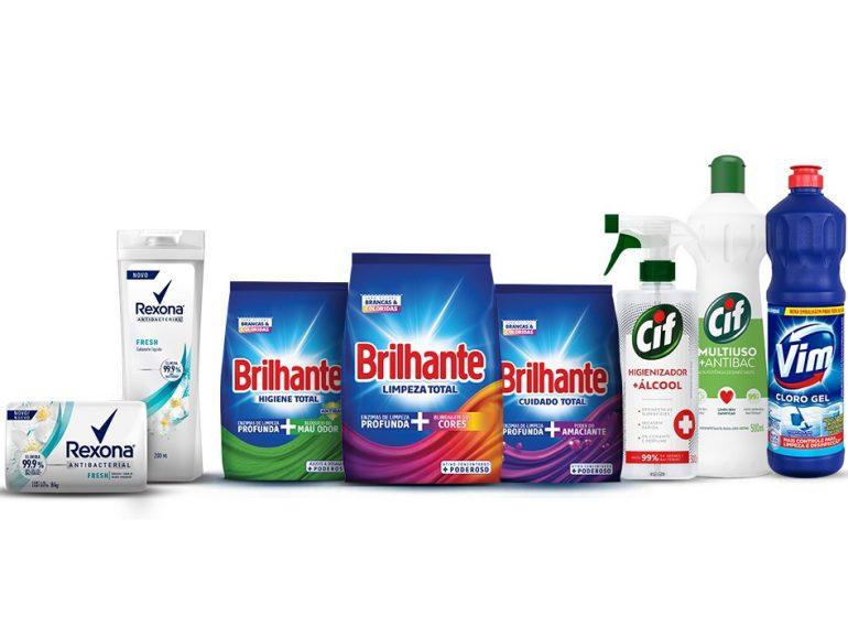 Unilever doa R$ 1 milhão em produtos de higiene e limpeza para combater coronavírus