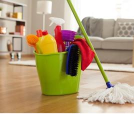 Como limpar a casa, de quanto em quanto tempo e quais produtos usar