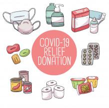 564.367 litros de saneantes em doação contra COVID-19