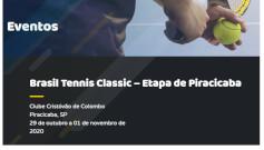 Candura apoia o Brasil Tennis Classic em Piracicaba