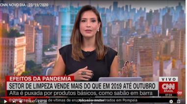 CNN: Setor de limpeza vende mais que em 2019 até outubro