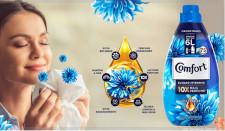 Comfort inova no mercado de amaciantes e lança produto com óleo de argan e 10 vezes mais perfume