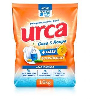 Urca anuncia o lançamento do Detergente em Pó Casa & Roupa